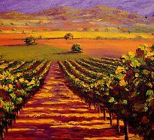 Provençal Vineyard Farmland by sesillie