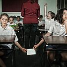 School Daze - The Note Passers by Alicia Adamopoulos