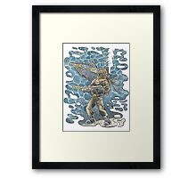 Diving Suit from 20,000 Leagues Under the Sea Framed Print
