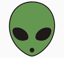 Green Alien by trendystickers