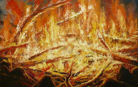 campfire by edisandu