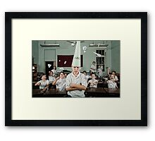School Daze - Dunce Framed Print