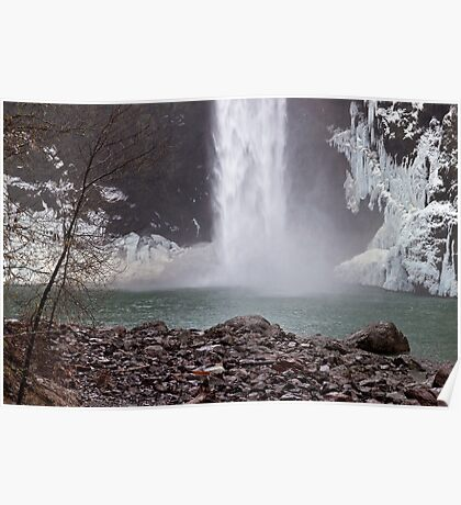 Snoqualmie Falls Thaw Poster