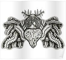 Viscera Moth Poster