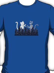Giant Kitten vs MechaCat T-Shirt
