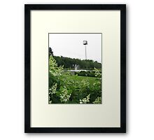 Fountain - Richards Trout Pond, Maine Framed Print