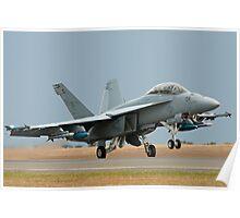 Super Hornet Take-off Poster