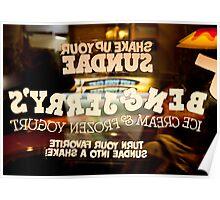 Inside Out Sundae Poster