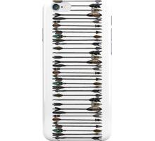 Skyrim Arrows - Line iPhone Case/Skin