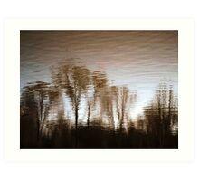 Water reflection VIII!...  Art Print