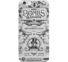 Legend of Zelda Barnes Bombs Vintage Ad iPhone Case/Skin
