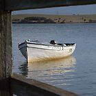 Framed Boat – Lake Illawarra NSW by CasPhotography