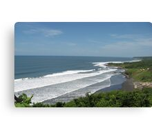Playa El Cuco Canvas Print
