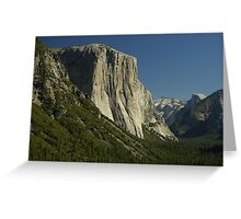 View across the Valley - Yosemite Greeting Card