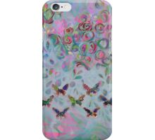 Kisses from a Butterfly Effect iPhone Case/Skin