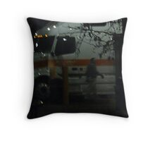 Fuel And Coffee Throw Pillow
