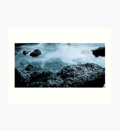 Small-Scaled Islands Art Print
