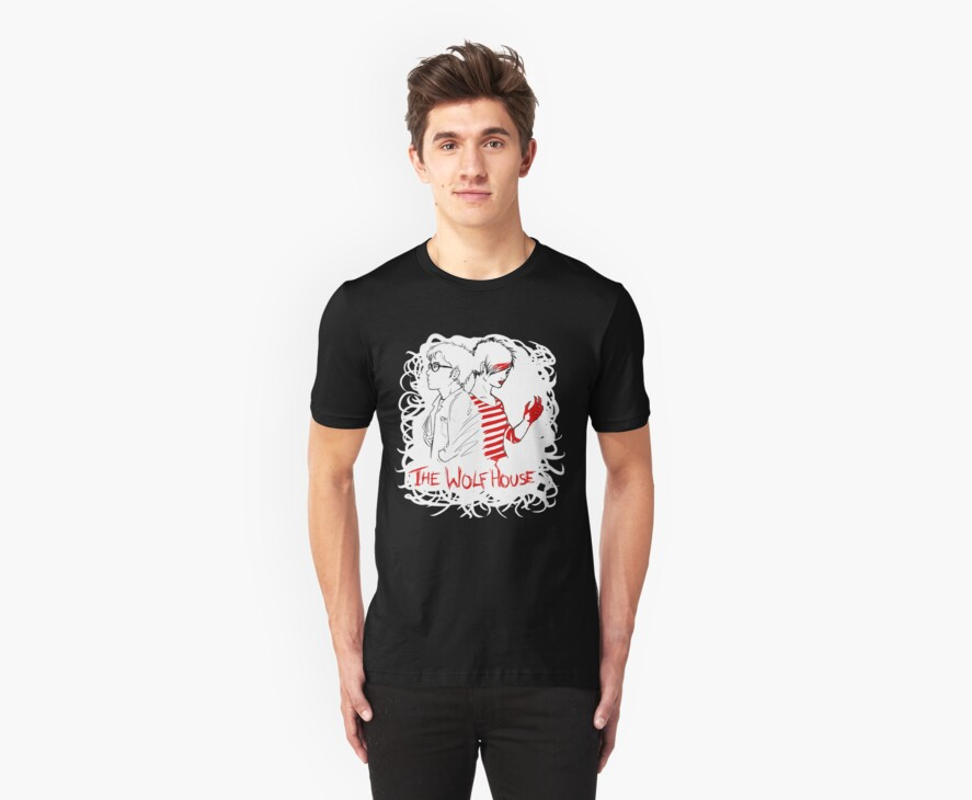 lily & will - scribble shirt by wolfhousemerch