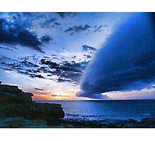 Broome WA cloud formation Photographic Print