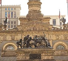 Soldiers and Sailors Monument Study 3  by Robert Meyers-Lussier