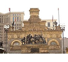 Soldiers and Sailors Monument Study 3  Photographic Print