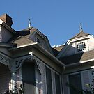 Gingerbread Housetop in Waxahachie, Texas by Susan Russell