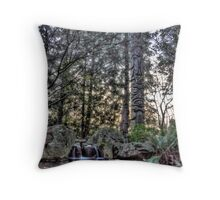 Heathman Lodge Garden       Throw Pillow