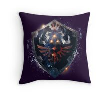 The Epic Hylian Shield Throw Pillow