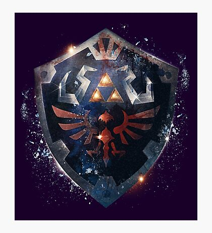 The Epic Hylian Shield Photographic Print