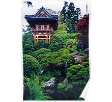 San Francisco, Golden Gate Park, Japanese Tea Ceremony Garden Poster