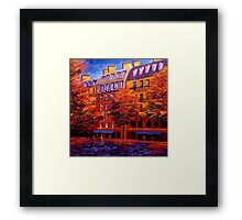 Autumn in Paris Framed Print