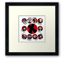 Xmen Evolution - Team Xmen Framed Print