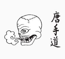 Smoking skull by shipsoo