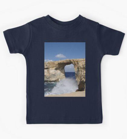 a stunning Malta landscape Kids Tee