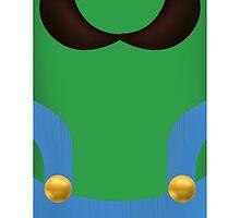 Luigi Phone Case by trevorkanzler