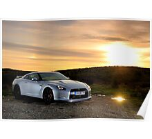 The Nissan GTR .... Poster