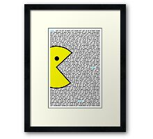 The Pac Guide Framed Print