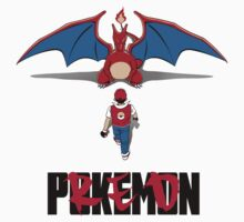 Pokémon Champion Red Kids Clothes