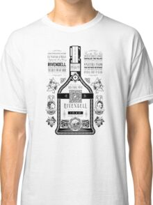 Lord of the Rings Rivendell Wine Vintage Geek Art Classic T-Shirt
