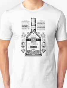 Lord of the Rings Rivendell Wine Vintage Geek Art Unisex T-Shirt