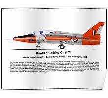 Hawker Siddeley Gnat T1 Poster