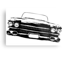 Cadillac silhouette Metal Print