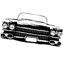Cadillac silhouette Photographic Print