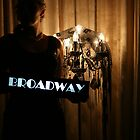 Broadway (behind the curtain) - Kim Sellers by TraceyLea
