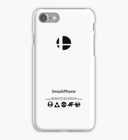 Super Smash Bros iPhone iPhone Case/Skin