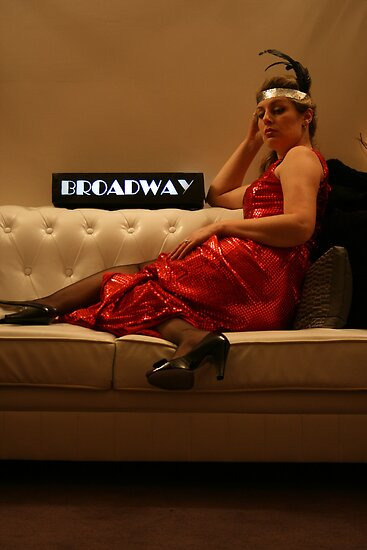 Broadway (paint it red!) - Kim Sellers by TraceyLea