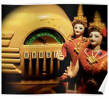Burma Radio Poster