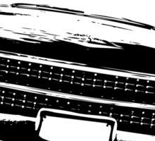 Cadillac silhouette Sticker