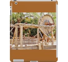 Old Equipment in Death Valley iPad Case/Skin