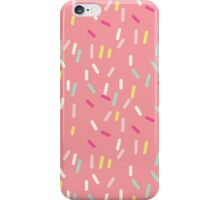 Sprinkles in Pink iPhone Case/Skin